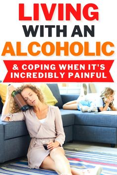 Coping with an Alcoholic - Coping with an alcoholic is an incredibly stressful and hard thing to do, especially if they are your spouse or parent. Use these 6 helpful coping tips for living with someone with an alcohol dependency. #mentalwellness #emotionalhealth #copingtips #cope #coping
