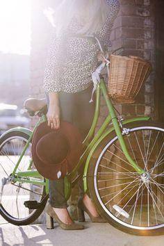 Numa Bicicleta...