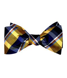 Executive Plaid Bowtie