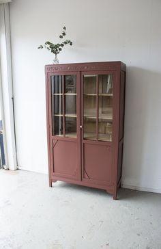 China Cabinet, Baby Blue, Upcycle, Storage, Vintage, Inspiration, Furniture, Home Decor, Diy