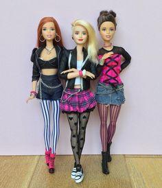 534 отметок «Нравится», 26 комментариев — Emily Polak (@emilypm3) в Instagram: «Rock chic style! #barbie #barbiemadetomove #madetomovebarbie #madetomove #barbiefashionista…»