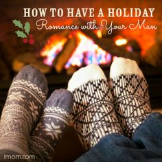 7 simple ways to have a holiday romance with your man. Here's how! #holiday #marriage #holidayromance