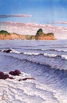 shin hanga mountains - Google Search