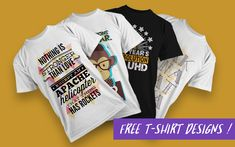Ready made PNG t-shirt designs and templates - Vector packs and vector art sets Free T Shirt Design, Shirt Designs, Graphic Wallpaper, Vector Format, Design Color, Sign Design, Abstract Backgrounds, Futuristic, Vector Art
