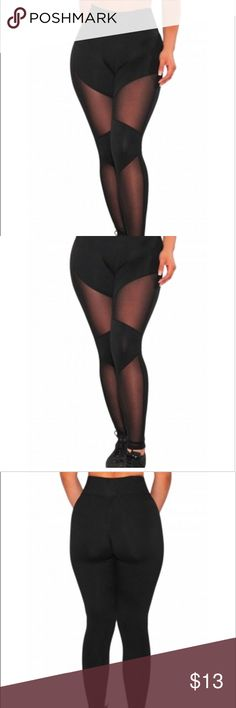High waisted athletic leggings Just ordered myself a pair of these! I'm loving the high waisted trend and these especially look good if you're more on the curvier side. Made of polyester and spandex. Available in small and medium. Comment below if you have any questions :) Pants Track Pants & Joggers