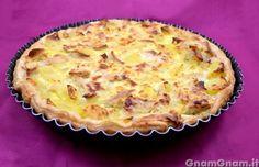 Scopri la ricetta di: Torta salata pollo patate e crescenza