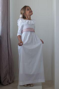 Vest. Plumetti blanco escote espalda - Petritas S.L.