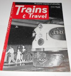 Trains and Travel Magazine Issue January 1952 Volume 12  Number 3    4087