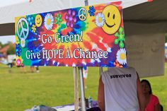 60's theme #relayforlife  RFL2013-166-2486768372-O by Relay For Life of Dr. Phillips, via Flickr
