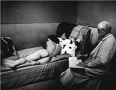 Brassaï     Henri Matisse and His Model     1939