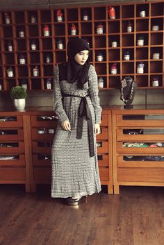 Maxi dress jenahara hijab