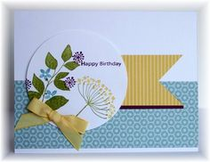 7/9/2012; Becky at 'Scrappin' and Stampin' in GJ' blog using SU products