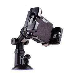 Moozy ExLine 360 rotating Universal GPS  Portable DVD  Tablet PC 7  10 Car Holder for Tablet  Windscreen mount 9  23 cm ** Want to know more, click on the image.