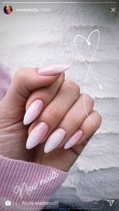 Want to know how to do gel nails at home? Learn the fundamentals with our DIY tutorial that will guide you step by step to professional salon quality nails. Aycrlic Nails, Oval Nails, Nail Manicure, Hair And Nails, Almond Acrylic Nails, Cute Acrylic Nails, Cute Nails, Classy Nails, Stylish Nails