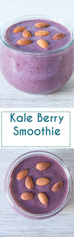 Perfect breakfast smoothie. Filling and exceptionally healthy and delicious…