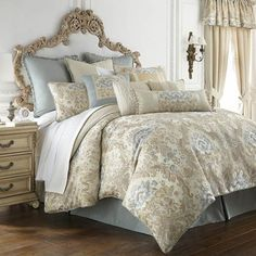 Waterford Brunswick Bedding By Waterford Bedding, Bed Sets, Comforters, Duvets, Bedspreads, Quilts
