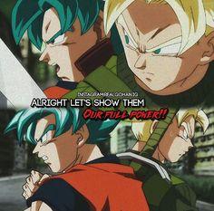 SSJB Goku & SSJ Trunks