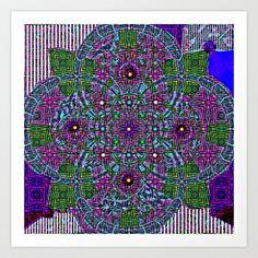 Calcareo # 18 Art Print by Mittelbach Marenco Florencia - $14.35