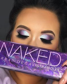 Makeup Eye Looks, Creative Makeup Looks, Cute Makeup, Gorgeous Makeup, Urban Decay Makeup, Urban Decay Eyeshadow, Makeup Eyeshadow, Eyeshadow Looks, Diy Maquillage