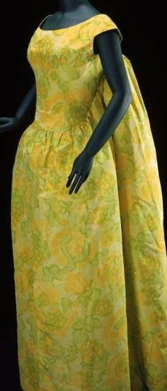 "A  Balenciaga""Watteau"" inspired gown, S/S 1961."