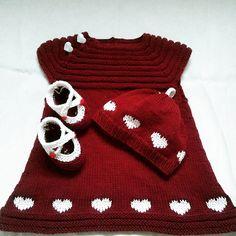 Ravelry: Project Gallery for Little sister's dress (Kjole til lillesøster) pattern by Tora Frøseth Design