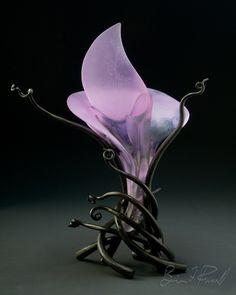 """*Art Glass - """"Ikebana#13"""" by Brian Russell"""