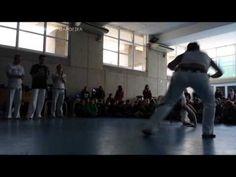 Evento Iandê Capoeira Valencia 2014. Contra Mestre Aú.