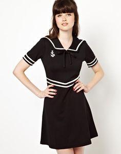 Pop Boutique Sailor Dress. *swoon*
