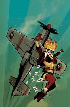 xombiedirge:  Harley Quinn Annual #1 Scratch 'n Sniff byAnt Lucia/Website
