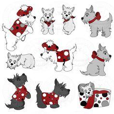 Scottie Dogs Part 1 of a set