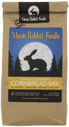 Moon Rabbit Gluten Free Southern Style Cornbread Mix, 20.3 -Oz by Moon ...