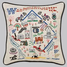 DC pillow. Want one for every city I've lived in!