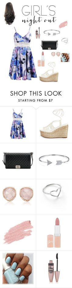 """Girls Night Out"" by fictionflower12 ❤ liked on Polyvore featuring Chloé, Chanel, Bling Jewelry, Monica Vinader, Jordan Askill, Jane Iredale, Rimmel, Maybelline and girlsnightout"
