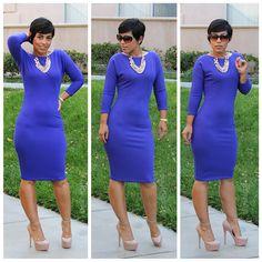 **NEW BLOG POST: DIY Dress & Pattern Review V8919 View A