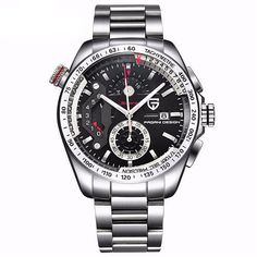 Cheap luxury brand, Buy Quality luxury luxury brand directly from China luxury brand men Suppliers: reloj hombre Full Stainless Steel Sport Watches Men Quartz Watch Clocks Relogio Masculino 2017 Luxury Brand PAGANI Mens Sport Watches, Watches For Men, Fine Watches, Wrist Watches, Amalfi, Army Watches, Stainless Steel Watch, Watch Brands, Luxury Branding