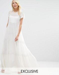 Needle & Thread | Needle & Thread Chiffon Lace Maxi Dress