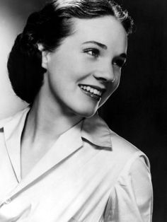 Julie Andrews...I met her when I lived in Cali back in the late 80's.