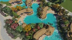 Polynesian style resort