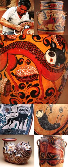 The Mexican culture creates awesome artists - Mexican-Nagual (Find your animal spirit)!! Mexican craft-arts here: http://www.pinterest.com/veronicamedinaf/folk-art/