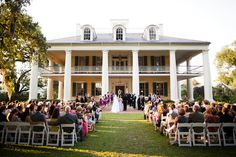 Seriously. I just want a plantation wedding. Is that too much to ask for?