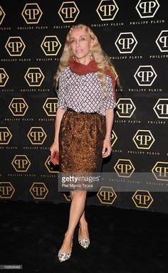 Franca Sozzani attends the Philipp Plein Spring/Summer 2013 fashion show as part of Milan Womenswear Fashion Week on September 22, 2012 in Milan, Italy.