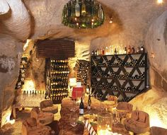 <3 Cantina...wine cellar...man cave...PARADISO...call it as you wish..It's DIVINE! :)