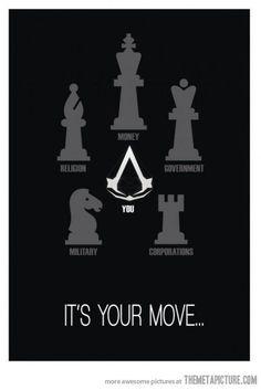 Картинки по запросу assassin's creed chess
