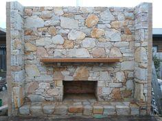 Fireplace. Completed. © Cal the Stoner calthestoner.com.au