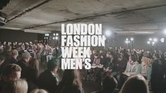 "London Fashion Week on Twitter: ""Watch the highlights from #LFWM day 2 where shows included @TheLouDalton, @O_Spencer, @mccviii & the debut collection from @whatwewear__ https://t.co/LDAjP1jgJk"""