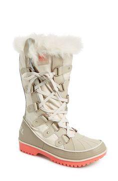 SOREL 'Tivoli Twist' Waterproof Boot (Women) at Nordstrom.com ooooh yes!!!