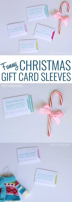 Funny Gift Card Slee