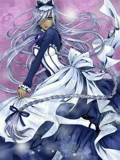 Hannah Anefeloz: Kuroshitsuji II (Black Butler II) she looks so bad ass Black Butler Hannah, Black Butler 3, Black Butler Anime, Black Butler Characters, Anime Characters, Book Of Circus, Nerd, Black Butler Kuroshitsuji, Awesome Anime