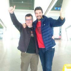 Bilbao ya recibe a nuestro Coach Lain Garcia Calvo para nuestro evento de mañana en Ortuella ... ¡¡¡ Empieza la cuenta atrás llega Camina por El Fuego !!! #caminaporelfuego #sisepuede #firewalking #superacion  www.caminaporelfuego.com