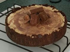 Great for those who love Mars Bars. Cheesecake Bars, Cheesecake Recipes, Chocolate Coconut Slice, Mars Bar, Good Food, Pie, Desserts, Crafting, Torte